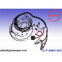 China Braid And Tape Automotive Wiring Harness Adjustable Wheel Chock Engine spare parts on sale