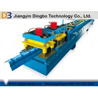 Wholesale 0.8 - 1.2mm Aluminium Steel Ridge Cap Roll Forming Machine With 10 - 15 m/min Working Speed from china suppliers