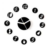 Wholesale New Design Non - Toxic DIY Acrylic Contemporary Art Wall Clock SH-30 2012 from china suppliers