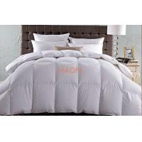 Wholesale Super 5 Star 95% Goose Down Luxury Hotel Duvet Comforter King Size from china suppliers
