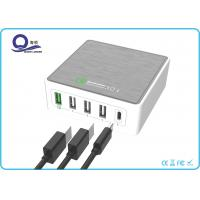 Wholesale 5 Ports 40W Multiple USB Type Charger Qualcomm Quick Charger 3.0 for Fast Charge from china suppliers