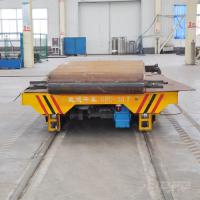 Wholesale workshop Low voltage railway transport rail car for steel plate handling from china suppliers