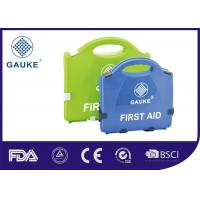 Wholesale General Purpose Medical First Aid Kit Empty First Aid Box in Green Blue from china suppliers