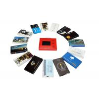 Wholesale Automatic lcd video brochure card for holiday greetings , 1G / 2G lcd video mailer from china suppliers