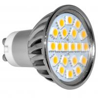 Wholesale 3000K Warm white 30Watt Equivalent 4Watt GU10 LED Spotlight 120 Degree Beam Angle from china suppliers