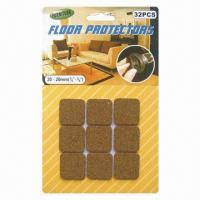 Wholesale Self Adhesive Cork Floor Protectors/Furniture Pads, Made of Cork Material from china suppliers