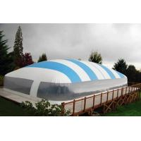 Wholesale Swimming Pool Waterproof Inflatable Air Tent PVC Tarpaulin Material from china suppliers