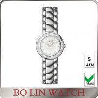 Wholesale Elegant Coloful Mesh Ladies Silver Bracelet Watches 10ATM Waterproof from china suppliers