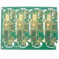 Buy cheap Multilayer High-density PCB with ENIG Surface Treatment/4-layer, Applied on Consumptive Electronics from wholesalers