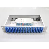Wholesale Fixed Fiber Optic Terminal Box with 48 SC Duplex Port for 256 core Cabinet from china suppliers