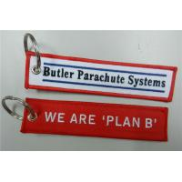 Wholesale Butler Parachute Systems We Are'plan B'Keychain with Customized Embroidered Logo, Accept A from china suppliers
