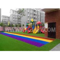 Wholesale Kids Playing Putting Coloured Sports Artificial Grass With Shock Pad Grassland from china suppliers
