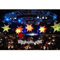 Wholesale Hanging Inflatable Star with LED Lights for Party and Wedding Decoration from china suppliers