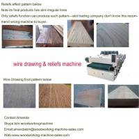 Wholesale wood wire brush machine from china suppliers