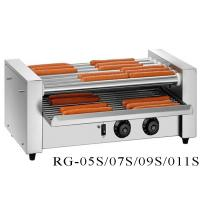 Buy cheap Commercial Hot Dog Grill Machine 5 / 7 / 9 / 11 Rollers , Electric Hot Dog Roller Machine from wholesalers