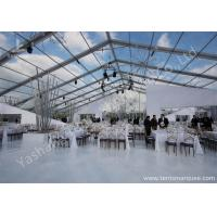 Wholesale Outdoor Transparent PVC Cover Luxury Wedding Tents Wind Resistant from china suppliers