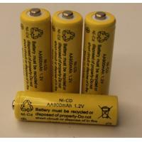 Wholesale 1.2V Cylindrical NICD Battery Packs AA900mAh UL CE from china suppliers