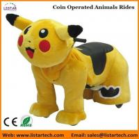 Wholesale Pokemon Coin Operated Battery Animals Electric Ride on Motorized Animals for mall from china suppliers