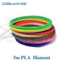 Quality 21 Color 5M PLA 3D Printer Filament 1.75mm For 3D Printing Pen Doodle for sale