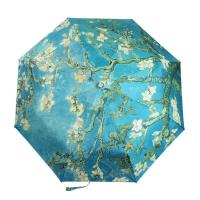 Wholesale Best selling oil painting anti uv umbrella personalized umbrella from china suppliers
