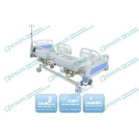 Wholesale Center Control Lock Electric Hospital Bed for Clinic , ICU Room , General Ward from china suppliers