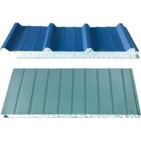 Wholesale Fireproof Galvanized Blue Corrugated Sandwich Panel For Factory Buildings from china suppliers