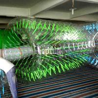 Wholesale Commercial Grade Clear Inflatable Water Walking Roller For Summer Water Game Parks from china suppliers