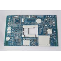 Wholesale Custom PCB boards manufacturer 4 layers PCB and PCB Assembly Prototype Blue soldmask white silkscreen from china suppliers