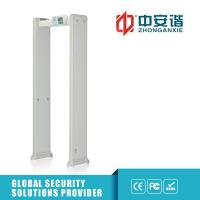 Wholesale Exhibition Hall Security Walkthrough Metal Detector Gate 400 Sensitivity Led Alarm Lights from china suppliers