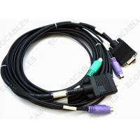 Wholesale HDB15P Male To MD6P Male VGA Cable UL2919 Signal Cable RoHS Compliant from china suppliers