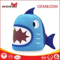 Wholesale Crazy Shark Design Children School Backpack Personalized Child Bags Durable from china suppliers