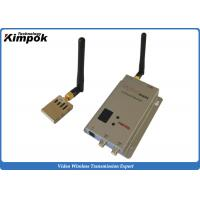 Wholesale Miniature FPV / UAV Transmitter 1000m LOS From Air to Ground Wireless AV Link from china suppliers