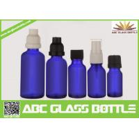 Wholesale Made In China 10ml 15ml 20ml 30ml 50ml Blue Oil Glass Bottle,Amber Oil Glass Bottle from china suppliers