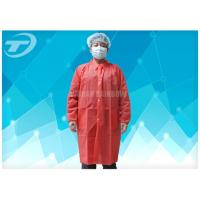 Wholesale Disposable Lab Medical Protective Clothing SBPP Fabric CE Certificated from china suppliers
