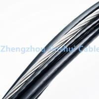 Quality Middle Voltage Triplex Aerial Electrical Cable , 70mm 4 Core All Bundled Cable for sale