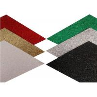Wholesale Eco - Friendly Glitter Stock Paper , 65cm Width Sparkle Craft Paper from china suppliers