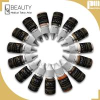 Buy cheap Safety Eyebrow Tattoo Ink Pigments Light Coffee Faster Coloring Effect from wholesalers