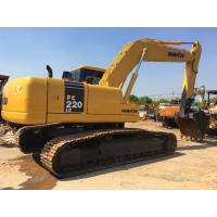Wholesale 6 Cylinders 22 Ton Used Komatsu Excavator For Road Construction PC220LC-7 from china suppliers