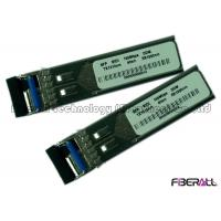 Wholesale WDM SFP Fiber Optic Transceiver Module 155M Data Rate Metal Shell from china suppliers