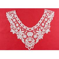 Wholesale OEM Floral Guipure Lace Collar Applique With Heavy Embroidery By OEKO TEX 100 from china suppliers