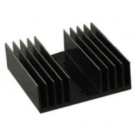 Wholesale Black Anodized Aluminum Heat sink Extrusion Profiles , Aluminum Radiator from china suppliers