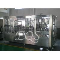 Wholesale 24 Filling Heads 4 In 1 Monoblock Pulp Juice Filling Machine for PET Bottle from china suppliers