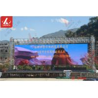Wholesale 6082 T6 Aluminium Goal Posts Led Screen / Background Cloth Stand Truss System from china suppliers