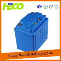 Wholesale Blue Coating 48V100AH Plastic LiFePO4 Battery Pack / Power Battery from china suppliers