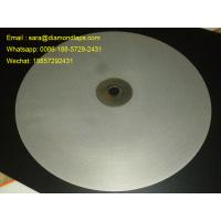 "Wholesale 16""inch Diameter #1000 Grit Flat Lap wheel Lapidary lapping polishing disc for polishing gemstones from china suppliers"