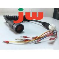 Quality 40A 14AWG Electrical Wiring Harness , Custom Auto Power Cord Cable Assembly for sale