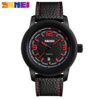 Wholesale Skmei Joler Fashion Large Dial Genuine Leather Strap Waterproof Quartz Men Wrist Watches 9138 from china suppliers