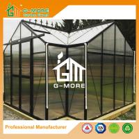 Wholesale G-MORE High-quality Extra Heavy Duty Classic English Style Easy DIY Orangery Aluminium Garden Greenhouse from china suppliers