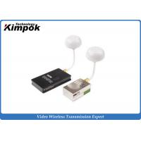 Wholesale Professional 5.8Ghz Video Transmitter , FPV / UAV HD Wireless Audio Video Sender from china suppliers