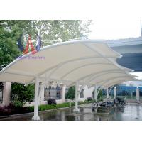 Buy cheap Solid Motorbike / Car Parking Tensile Structure / Tensile Car Parking Shades from wholesalers
